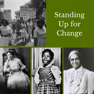 Standing Up For Change Poster