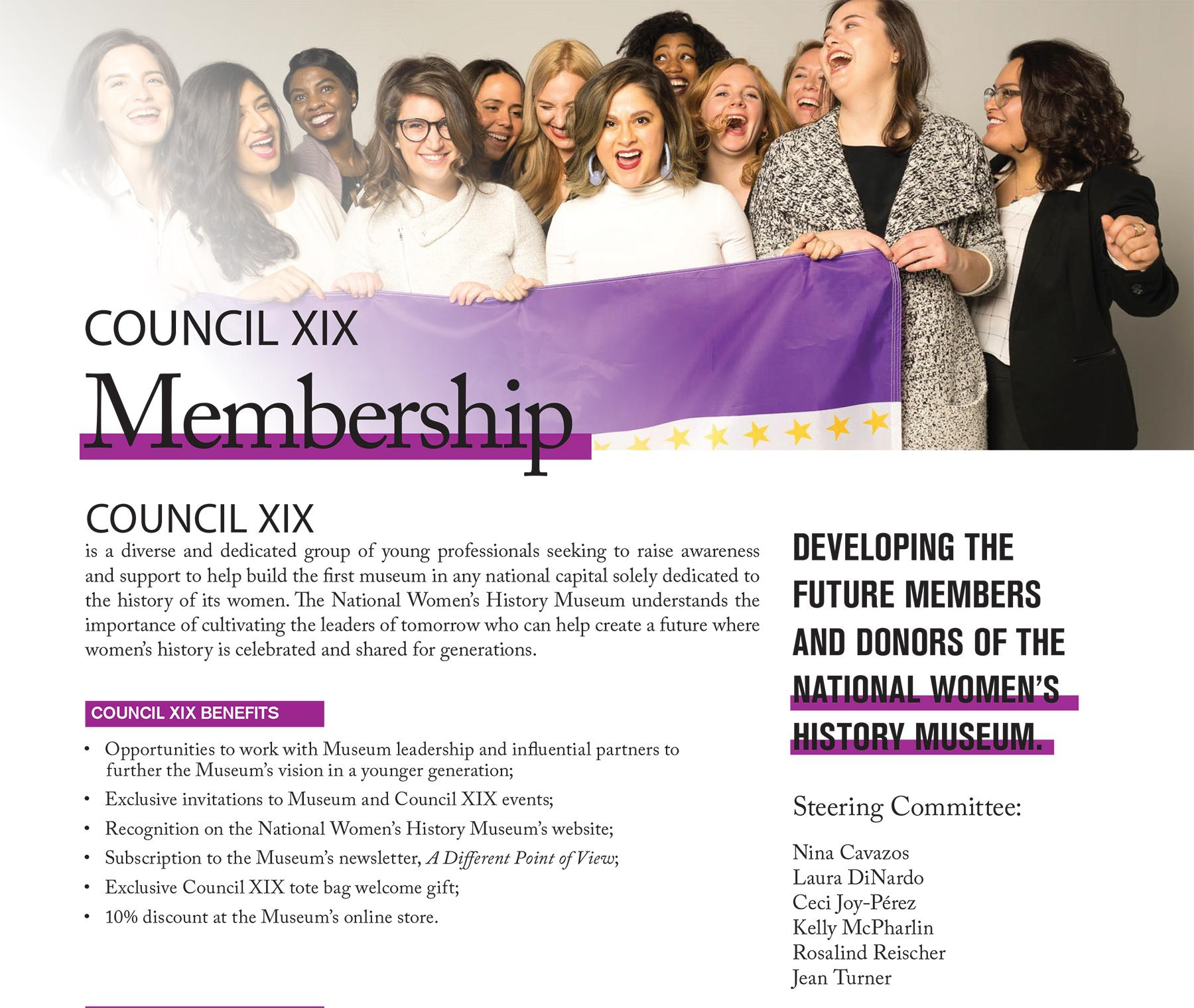Council XIX One Pager