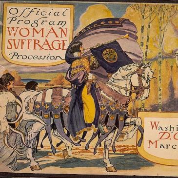 Woman Suffrage Procession