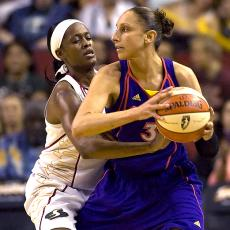 Swin Cash and Diana Taurasi Basketball
